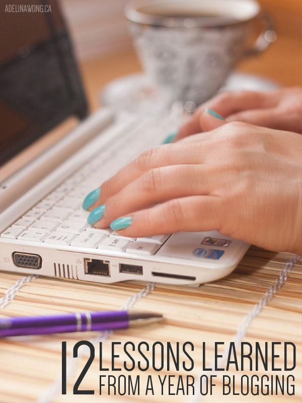 12 Lessons Learned From a Year of Blogging