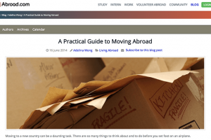 "Help Go Abroad – ""A Practical Guide to Moving Abroad"""